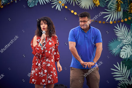 Shappi Khorsandi brings her brother on stage at The Park