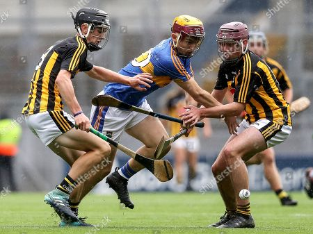 Tipperary vs Kilkenny. Tipperary's Jack Morrissey with Conor Kelly and Darragh Maher of Kilkenny