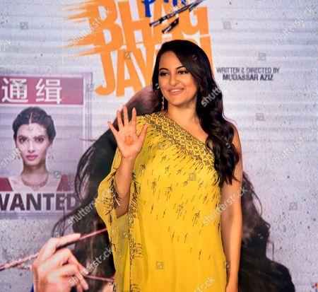 Indian film actress Sonakshi Sinha