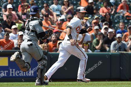 6ff0fbf69 Tampa Bay Rays v Baltimore Orioles Stock Photos (Exclusive ...