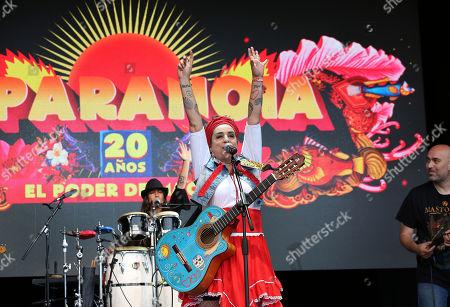 Amparanoia, Amparo Sanchez