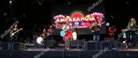 Stock Image of Amparanoia, Amparo Sanchez