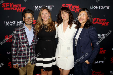 David Iserson (Co-Screenwriter), Meredith Wieck (Dir. Development LionGate), Susanna Fogel (Co-Screenwriter, Director), Julie Oh (Producer)