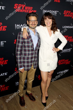 David Iserson (Co-Screenwriter), Susanna Fogel (Co-Screenwriter, Director)
