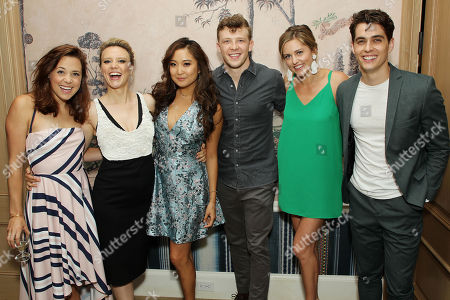 Kate Rockwell, Kate McKinnon, Ashley Park, Kevin Csolak, Taylor Louderma, Kyle Selig (Cast from Mean Girls, Musical)