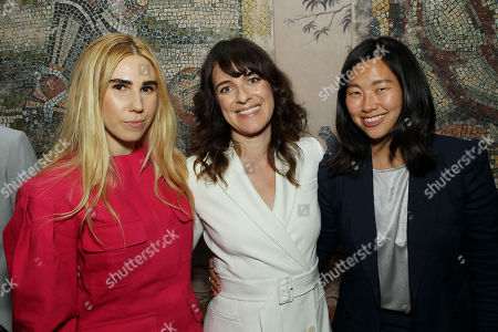 Stock Image of Zosia Mamet, Susanna Fogel (Co-Screenwriter, Director), Julie Oh (Producer)