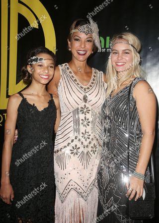 Stock Photo of Kellin Quinn, Eva LaRue, Kaya McKenna Callahan