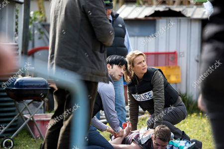 "Editorial photo of ""Dead Lucky"" TV Show - 2018"