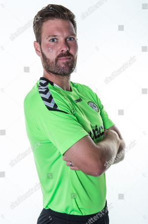 Forest Green Rovers Scott Laird during the 2018/19 official team photocall for Forest Green Rovers at the New Lawn, Forest Green. Picture by Shane Healey