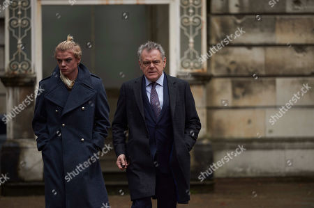 Kevin McNally as James Hollis and Tom Rhys Harries as Eliot Hollis.