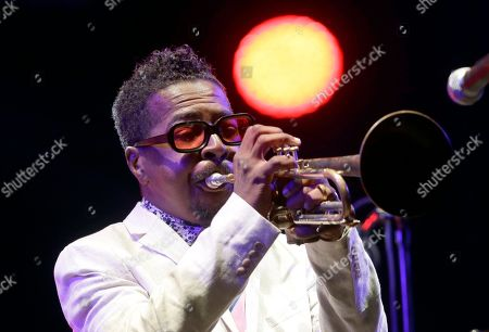 Chick Corea. American jazz trumpeter Roy Hargrove performs at the Five Continents Jazz festival, in Marseille, southern France