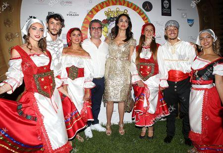 Editorial picture of Mariagrazia Cucinotta 50th birthday party, Rome, Italy - 29 Jul 2018