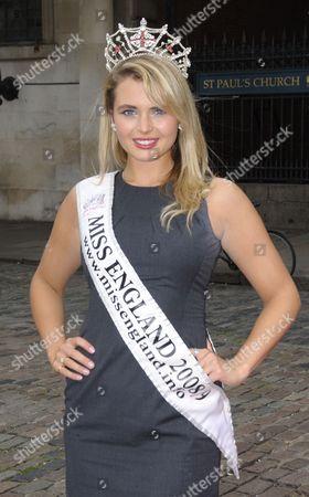 Laura Coleman (winner of Miss England 2008) 14 Jul 2009