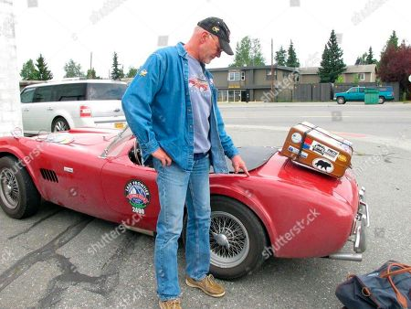 Editorial image of Bear Tears Car Alaska, Anchorage, USA - 30 Jul 2018