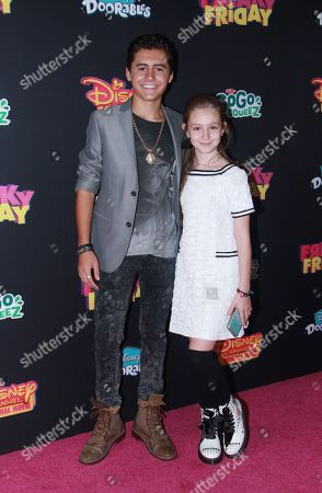Isaak Presley and Mimi Ryder