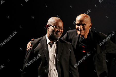Stock Photo of Ron Stllworth (Author), Harry Belafonte