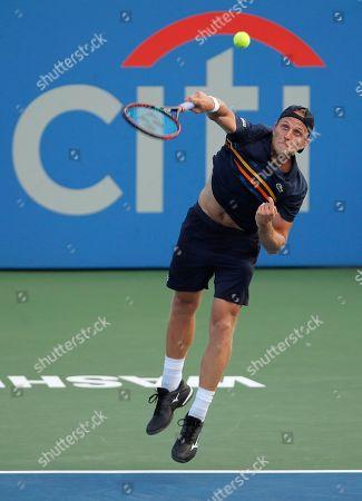 Editorial image of Tennis, Washington, USA - 31 Jul 2018