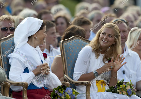 Editorial image of Concert at Borgholm Sports Stadium to celebrate the 32nd birthday of Crown Princess Victoria of Sweden, Solliden, Sweden - 14 Jul 2009