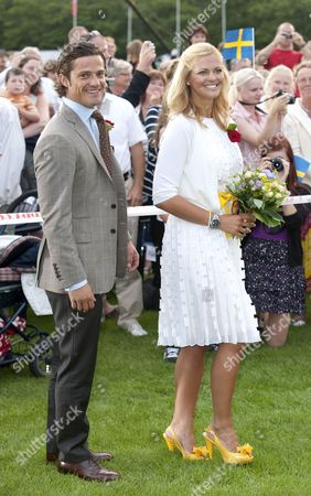 Prince Carl Philip and Princess Madelaine