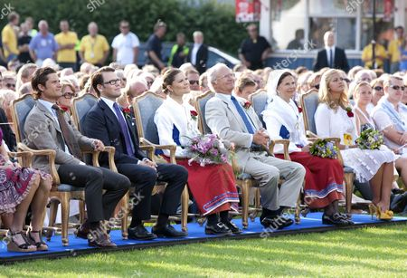 Editorial picture of Concert at Borgholm Sports Stadium to celebrate the 32nd birthday of Crown Princess Victoria of Sweden, Solliden, Sweden - 14 Jul 2009