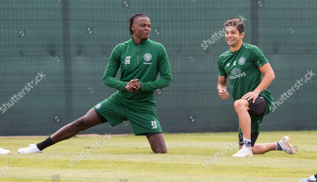 Editorial photo of Celtic FC Training, Football, Lennoxtown, Glasgow, Scotland, UK - 31 Jul 2018