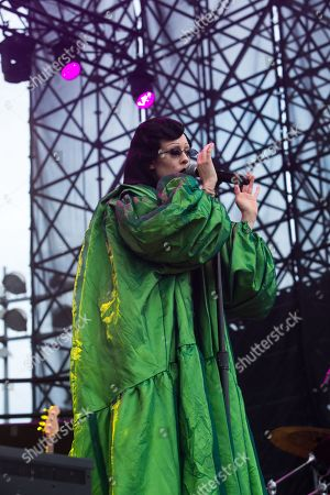 "Allie X opening for Dua Lipa's ""Self-Titled"" Tour"