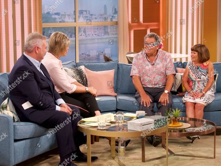 Stock Photo of Eamonn Holmes, Ruth Langsford and The Krankies - Ian Tough and Janette Tough