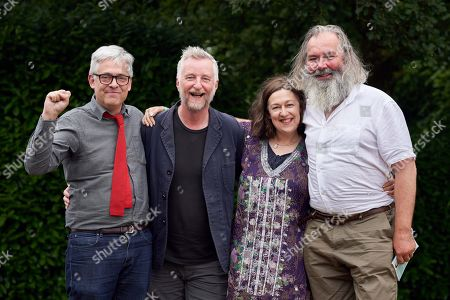 Stock Photo of Backlisted: Andy Miller, Billy Bragg, Suzi Feay and John Mitchinson, The Bowling Green