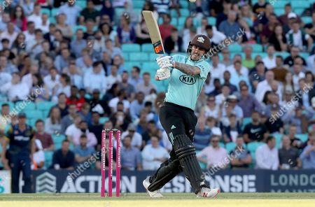 Nic Maddinson of Surrey in batting action during Surrey vs Glamorgan, Vitality Blast T20 Cricket at the Kia Oval on 31st July 2018