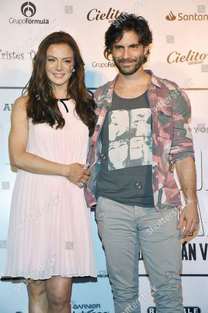 Silvia Navarro and Osvaldo Benavides