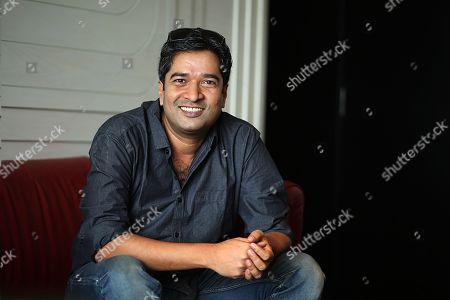 Editorial photo of Bollywood Director Atul Manjrekar portrait session, New Delhi, India - 27 Jul 2018
