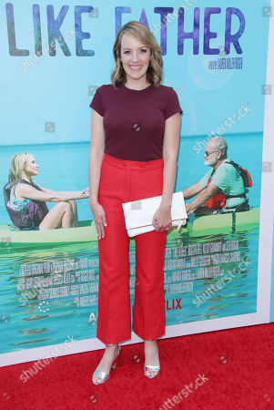 Editorial image of 'Like Father' film premiere, Arrivals, Los Angeles, USA - 31 Jul 2018