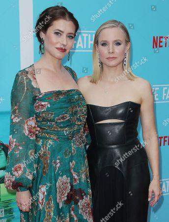 Lauren Miller and Kristen Bell