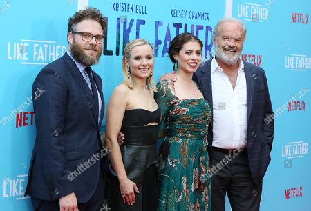 Seth Rogen, Kristen Bell, Lauren Miller and Kelsey Grammer
