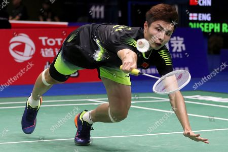 Editorial image of Badminton Worlds, Nanjing, China - 01 Aug 2018