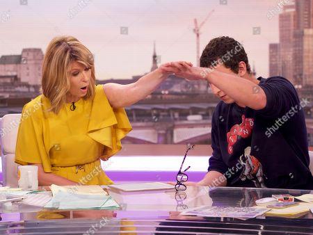 Editorial photo of 'Good Morning Britain' TV show, London, UK - 01 Aug 2018