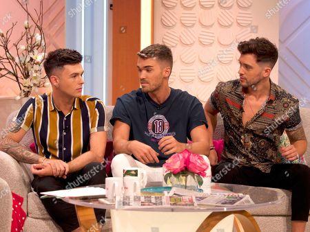 Editorial photo of 'Lorraine' TV show, London, UK - 01 Aug 2018