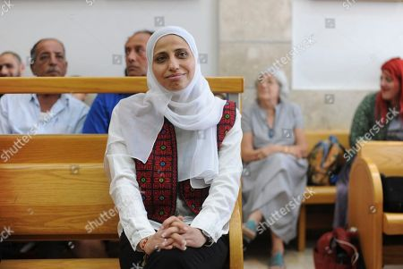 Editorial photo of Poet Sentenced, Nazareth, Israel - 31 Jul 2018