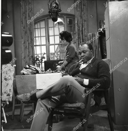 Thomas Baptiste (as Johnny Alexander) and Barbara Assoon (as Mrs Alexander)