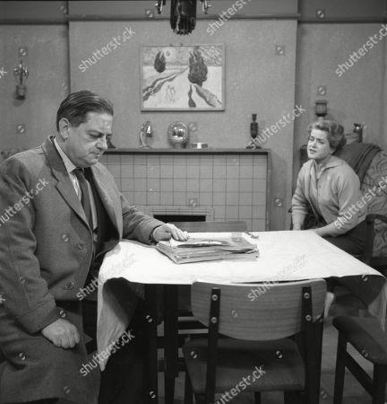 Editorial photo of 'Coronation Street' TV Show - 1963