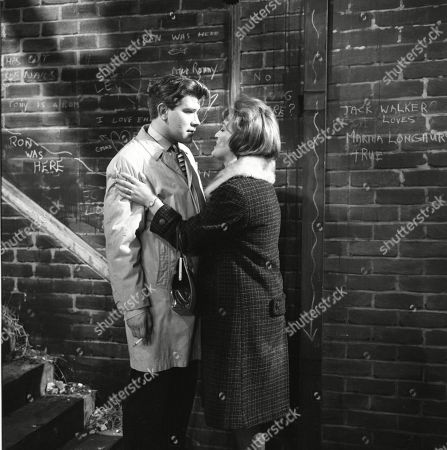 Brian Rawlinson (as Joe Makinson) and Christine Hargreaves (as Christine Appleby)