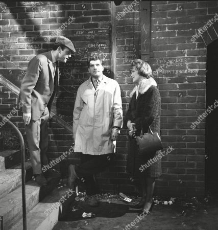 Kenneth Cope (as Jed Stone), Brian Rawlinson (as Joe Makinson) and Christine Hargreaves (as Christine Appleby)