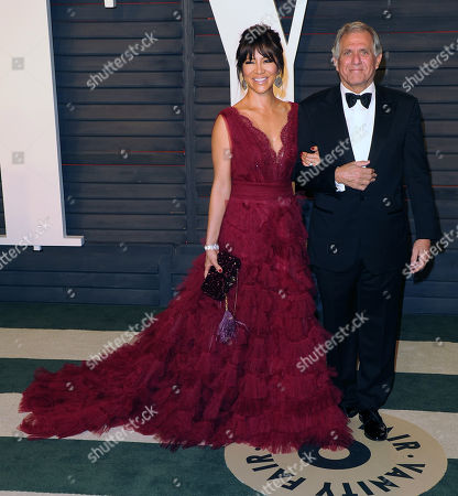 Leslie Moonves and Julie Chen arrive at the Vanity Fair Oscar party in 2016. Leslie Moonves is currently facing sexual misconduct allegations as of July 2018.