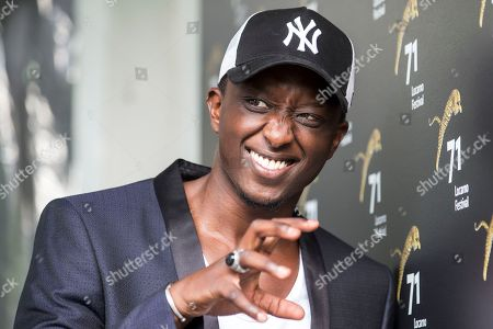 French actor Ahmed Sylla poses during a photocall for the film 'Les Beaux Esprits' at the 71st Locarno International Film Festival, in Locarno, Switzerland, 01 August 2018. The Festival del film Locarno 2018 runs from 01 to 11 August.