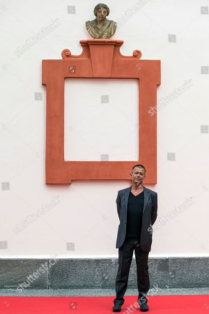 Emmanuel Carrere, French writer and member of the Concorso internazionale Jury, poses during a photocall at the 71st Locarno International Film Festival, in Locarno, Switzerland, 01 August 2018. The Festival del film Locarno 2018 runs from 01 to 11 August.