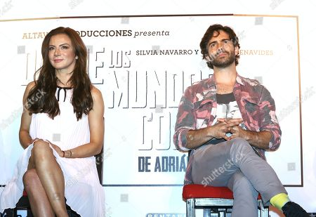 Stock Photo of Silvia Navarro and Osvaldo Benavides