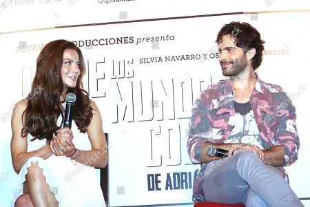 Stock Image of Silvia Navarro and Osvaldo Benavides