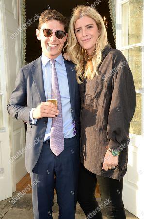 Stock Photo of Jake Greenall and Annabel Simpson