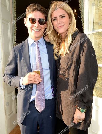 Editorial photo of Fitzdares' Racing Futures Dinner at Cowdray House, Sussex, UK - 01 Aug 2018