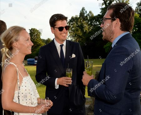 Martha Ward, Jake Warren and Will Woodhams